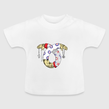 tatoo illustratie - Baby T-shirt