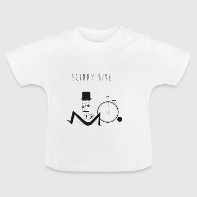 Scinny Bike Man Bicycle - Baby T-Shirt