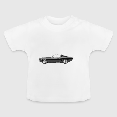 Muskel-Auto - Baby T-Shirt