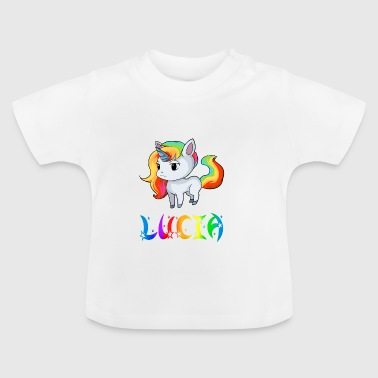 Lucia unicorn - Baby T-Shirt