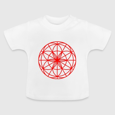 Mandala Spirit light red - Baby T-Shirt