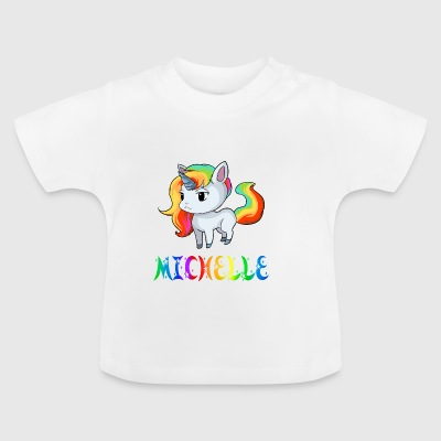 Michelle unicorn - Baby T-Shirt