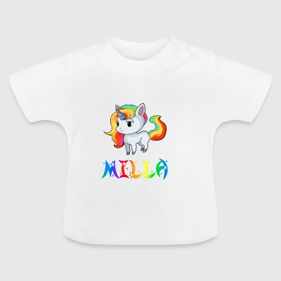 Milla unicorn - Baby T-Shirt