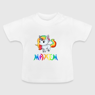Unicorn Maxim - Baby-T-shirt