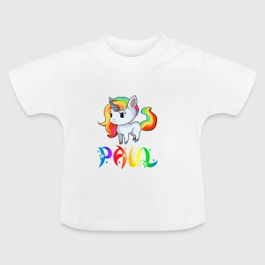 Einhorn Paul - Baby-T-shirt
