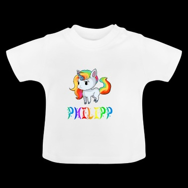 Unicorn Philipp - Baby T-Shirt