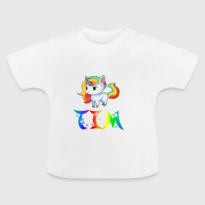 Unicorn Tim - Baby T-Shirt