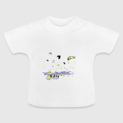 Kite Surfing - Baby T-Shirt