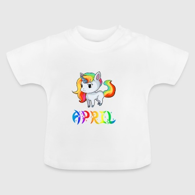 Unicorn April - Baby T-Shirt