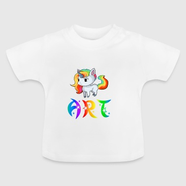 Art Unicorn - T-shirt Bébé