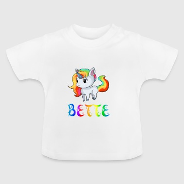 Einhorn Bette - Baby T-shirt