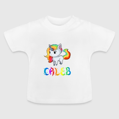 Unicorn Caleb - Baby T-Shirt