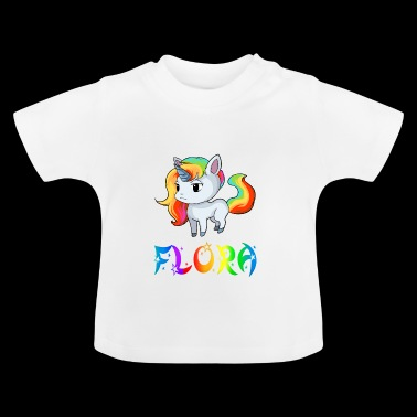 Unicorn Flora - Baby T-shirt