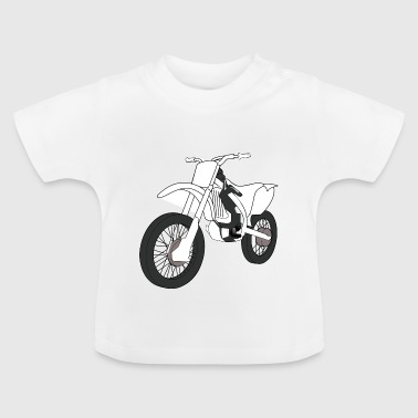 motocross motorcycles athlete sport motorcycle31 - Baby T-Shirt