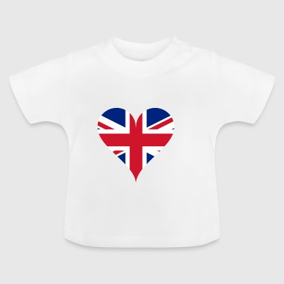 GB Heart - Baby T-Shirt