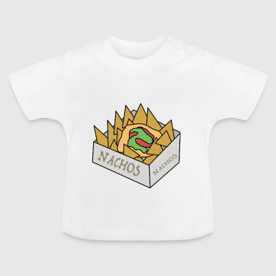 quesadilla tortilla nachos Mexicaanse food3 - Baby T-shirt