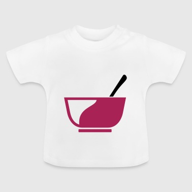 Cereal bowl for breakfast gift - Baby T-Shirt