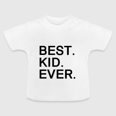 Beste kind ooit. Motiverende cadeaus voor Kids.Awesome - Baby T-shirt
