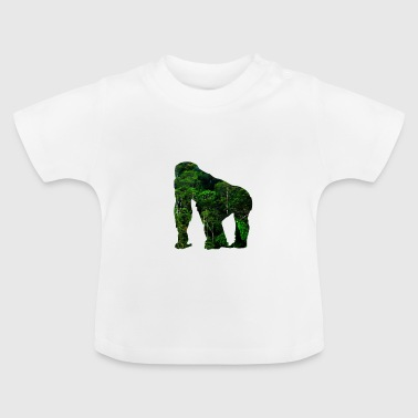 Monkey Animal Jungle Red de Rainforest Gift - Baby T-shirt