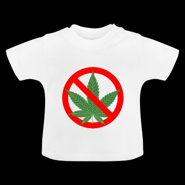 hemp cannabis weed marijuana hemp grass gras7 - Baby T-Shirt