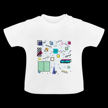 Eldram's Eighties Abstract 01 - Baby T-Shirt