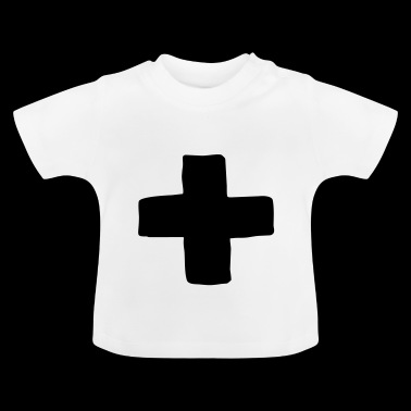 plus kruis - Baby T-shirt