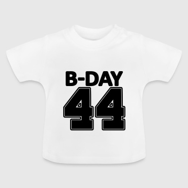 44 years number number 44th birthday numbers jersey - Baby T-Shirt
