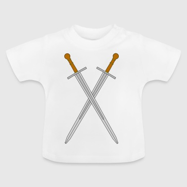 Two crossed swords - Baby T-Shirt