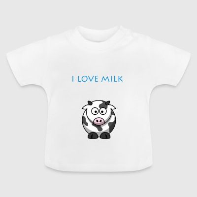 I LOVE MILK BOY - Baby T-Shirt