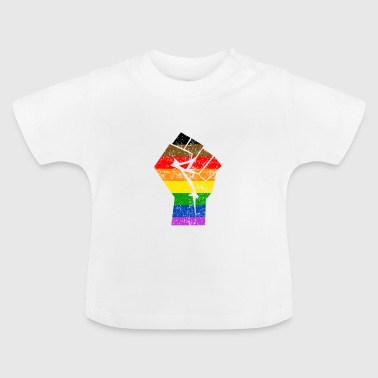 Colormore Pride Rainbow Flag LGBT Philly - Baby-T-skjorte