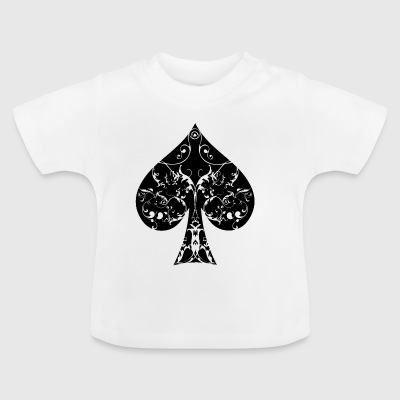 Pik Karte Symbol Tribal Poker Ass Hold´em - Baby T-Shirt