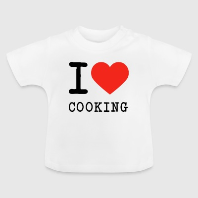 I love cooking - Baby T-Shirt