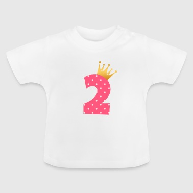 Baby 2nd birthday Second birthday gift - Baby T-Shirt