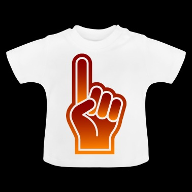 Great Finger At Sporting Events - Baby T-Shirt