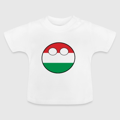 Country bal Country inheemse Hongarije - Baby T-shirt