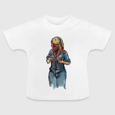 Zombie Woman - Baby T-Shirt