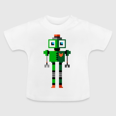 Green Robot - Baby T-Shirt