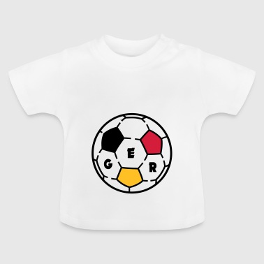 Ballon foot GERMANY - T-shirt Bébé
