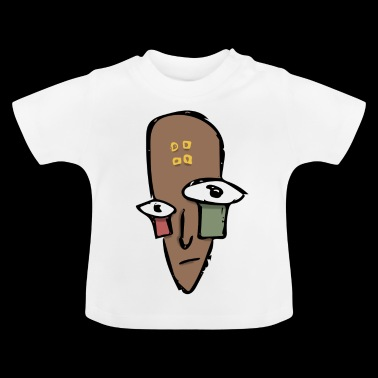 Tribe Mask - Baby T-Shirt