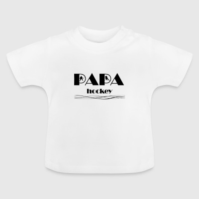 Papa Hockey 5 - Baby T-Shirt