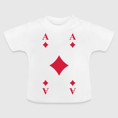 Ace of Diamonds - Baby T-Shirt