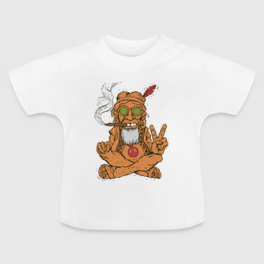 Peace Love Community Kiffer Liefde - Baby T-shirt