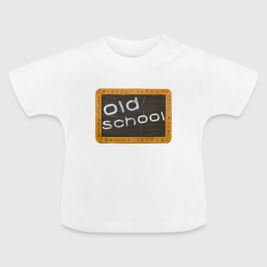 old school - T-shirt Bébé