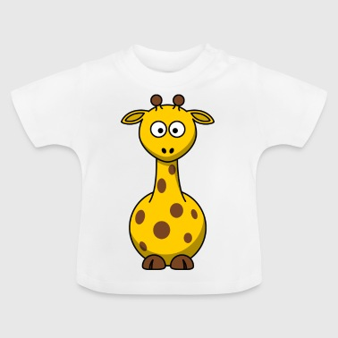 Giraffe Cartoon - Baby T-shirt