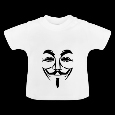Anoniem Masker PNG Afbeelding - Baby T-shirt