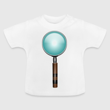 magnifying glass - Baby T-Shirt