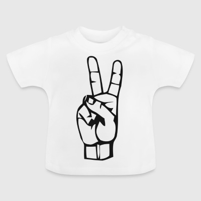 Victory sign - Baby T-Shirt