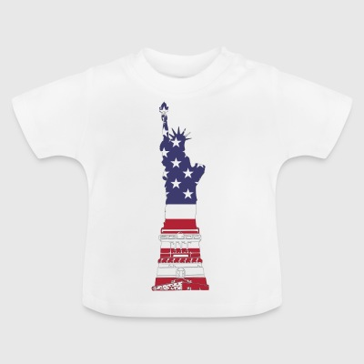 Lady Liberty USA - Baby T-Shirt