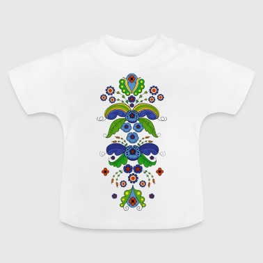 Allmoge Blomsterbonad - Baby-T-shirt