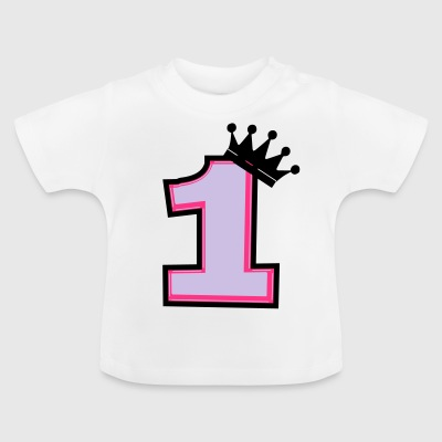 1 crown - Baby T-Shirt